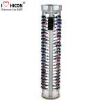 Buy cheap Rotating Eyewear Store Sunglasses Display Racks With Wood Base Metal Rod from wholesalers