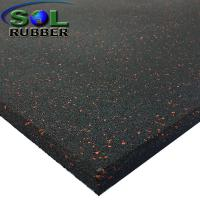 Buy cheap 15mm Heavy Duty Area Anti Static  Gym Rubber Flooring Tiles from wholesalers