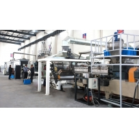 Buy cheap Car Battery Separator Plastic PE Sheet Extruder Production Line from wholesalers