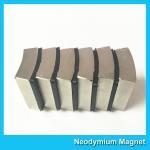 Buy cheap N52 Sintered Neodymium Iron Boron Magnet Arc Shaped Custom Size And Shape from wholesalers