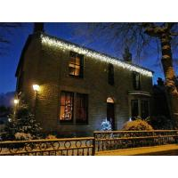 Buy cheap 6m 750LED outdoor twinkling led icicle lights for roof decoration from wholesalers