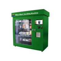 Buy cheap Snack / Beer Industrial Vending Machines with 19 Inch Touch Screen Display from wholesalers