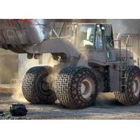 Buy cheap tyre/tire protection chains for used Komatsu loaders 350 from wholesalers