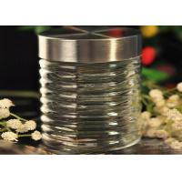 Buy cheap 850ML Cylinder Personalized Mason Jar Drinking Glass Decorative Canister from wholesalers