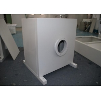 Buy cheap Customize Clean Room Hepa Filter Box Diffuser Round Duct Interface For Special Vents product