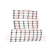 Buy cheap Black Stabilization PP Biaxial Geogrid For Slope Control 25.4 * 25.4mm Mesh Size product