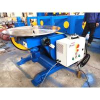 Buy cheap 1.5KW Tilting Tube Welding Positioners With Hand Control Box Fully European Standard from wholesalers