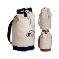 Buy cheap Garment Gift Recycled Shopping Bags , Durable Eco Friendly Canvas Tote Bags For Promotion from wholesalers