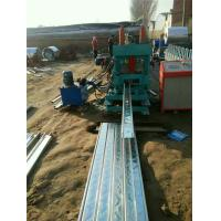 Buy cheap Metal C Section Roll Forming Machine Customized Logo Hydraulic Cutting Type from wholesalers