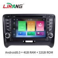 Buy cheap 7 INCH Audi A4 Dvd Player , BT WIFI Dvd Player ST TDA7388 For Android from wholesalers