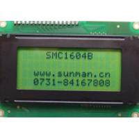 Buy cheap 16characters*4 Lines LCD Screen  (SMC 1604B) from wholesalers