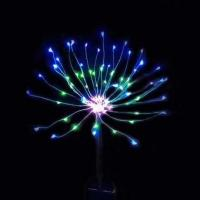 Buy cheap Yard Pathway Solar Operated Fireworks Lights With 120 LEDs Warm White from wholesalers