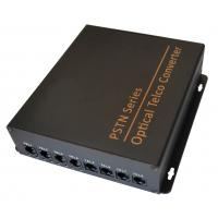 Buy cheap Telephone/Ethernet/E1 interface telephone video converter fiber optic transmission systems from wholesalers