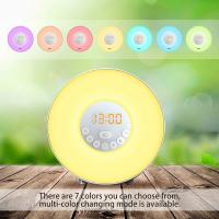 Buy cheap Alarm Clock,Wake Up Light with 6 Nature Sounds, FM Radio, Touch Control and USB Charger from wholesalers