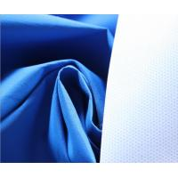 Buy cheap Blue 196T Polyester Taslan Fabric 75 * 160D , Soft Rayon Spandex Knit Fabric from wholesalers