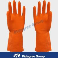 Buy cheap White/ Blue Knitted Industrial Nitrile Glove For Working 10 from wholesalers
