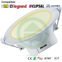 Buy cheap 3000K Warn Wihte Dimmable LED Downlights 10W Corrosion Resistance from wholesalers