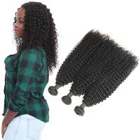 Buy cheap Grade 9A Kinky Baby Remy Curly Hair Extensions 3 Bundles Raw Human Hair from wholesalers