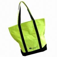 Buy cheap Promotional Canvas Shopping Tote Bag, Available in Various Printing Technique product