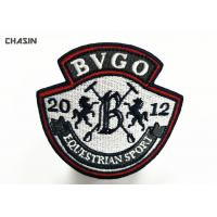 Buy cheap Event Embroidered Badges Patch Overlock For Uniform / Shoes / Caps from wholesalers