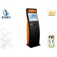 Buy cheap 17 Inch Ticket Self Service Check In Kiosk Point Of Sale Kiosk 300cd/m² from wholesalers