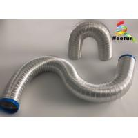 Buy cheap Elastic Collapsible Aluminum Air Duct Heat Resistant Customized With 9mm Ripple from wholesalers