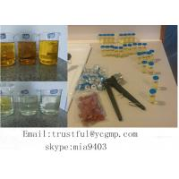 Buy cheap Semi Finished Tri Test 400 mg / ml Injectable Testosterone Compound Oil For Bodybuilding from wholesalers