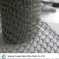 Buy cheap Stainless Steel Knitted Wire Mesh |Single or Double Wire 1x2mm Hole/0.15mm from wholesalers