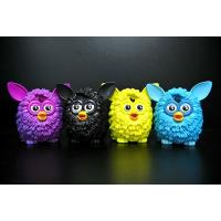 Buy cheap 4 Colour Owl Bird Plastic Toy Figures Lovely Style For Home Decoration product