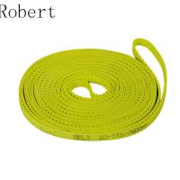 Buy cheap 10 mm Pitch Toothed Polyurethane Timing Drive Belts High Abrasion Resistance product