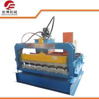 Buy cheap 0.3 - 0.8 Mm Thickness Steel Sheet Metal Bending Machine Slitting / Cutting For Roof Panel from wholesalers