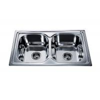 Buy cheap buy double kitchen sink #FREGADEROS DE ACERO INOXIDABLE #wenying sink factory #stainless steel sink manufacturer #sink from wholesalers