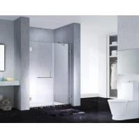 Buy cheap Fashion Design Frameless Slimline Rectangle Shower Enclosure With Pivot Door, AB product