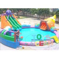 Buy cheap Lager Colored Rental Inflatable Water Toys For Lake Waterproof Durable from wholesalers