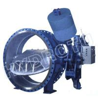 Buy cheap Dia. 50 - 3000 mm  hydraulic counter weight Flanged Butterfly Valve for Hydropower Project from wholesalers