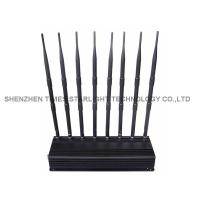 Buy cheap Omni Directional 5 Watts Mobile Phone Signal Jammer / WiFi Signal Jammer With 8 High Gain from wholesalers