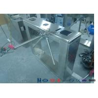 Buy cheap Security Controlled Access Turnstiles Electric Turnstile Access Control System With Counter from wholesalers