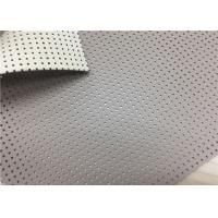 Buy cheap Pvc Artificial Leather Stain Resistance , Durable Soft Faux Leather Fabric from wholesalers