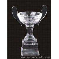 Buy cheap Personalized Crystal Trophy,award trophy,crystal gifts For Business Awards Souvenir from wholesalers