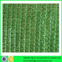 China 2016 hot sale factory supply hdpe sun shade net with low price on sale