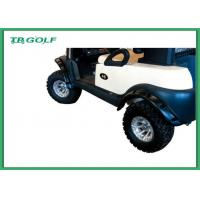 Buy cheap Wide Golf Cart Fender Flares Heavy Duty Textured Plastic Material Customized Size from wholesalers
