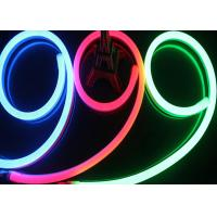 Buy cheap AC 220V Input Neon Led Light Strips, LEDs / M Waterproof RGB Neon Rope Light from wholesalers