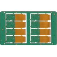 Buy cheap FR4,6 Layers Rigid flex PCB board Lead free HASL , 3 OZ Copper from wholesalers