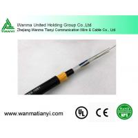 Buy cheap ADSS Fiber Optic Flat Cable for Aerial Installation Clamps product