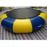 Buy cheap Outdoor 0.9mm Pvc Tarpaulin Inflatable Watertrampoline For Water Sports Game product