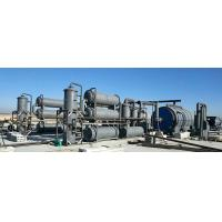 Buy cheap Environmental protection waste tyre & plastic to fuel oil recycling pyrolysis plant from wholesalers