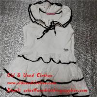 Buy cheap Mixed Second Hand Baby Girl Clothes Little Girls Dresses Fashionable Comfortable from wholesalers