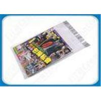 Buy cheap Custom Printed Poly Mailers Self-Seal Transparent Poly Envelopes For Brochures from wholesalers