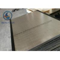 Buy cheap Johnson Wedge Wire Screen Panels 486 Width 36mm Thickness Customezied from wholesalers