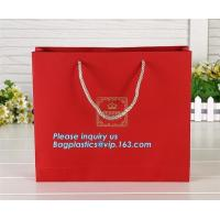 Buy cheap Luxury Recyclable Custom Personalized Design Glossy Tote Carrier Packaging Paper Bags For Gift, bagplastics. bagease pac from wholesalers